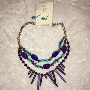 ✨✨3 for $16✨✨ NWT Necklace and earring set